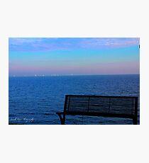 Boats on the Horizon Photographic Print
