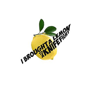 The Wombats // I brought a lemon to a knife fight by DesignedByOli