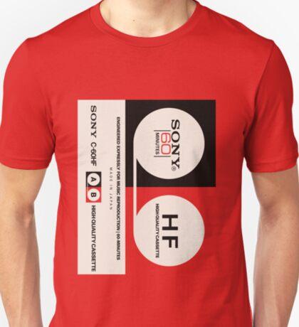 Classic Music Cassettes - Sony C60HF T-Shirt