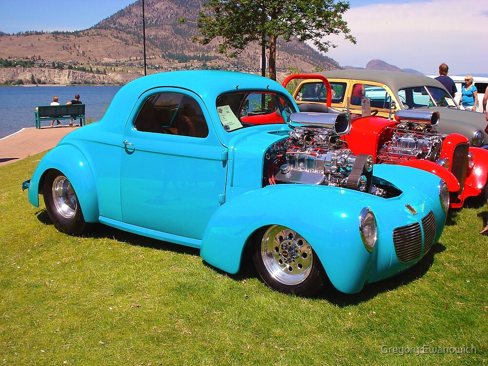Willys Coupe by Gregory Ewanowich