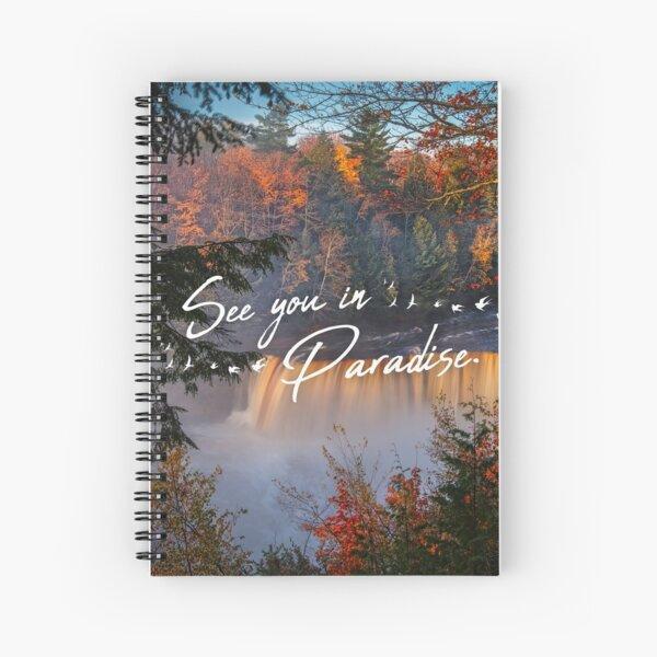 Nos vemos en el paraíso Cuaderno de espiral