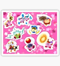 Kirby Misc. Stickers Sticker