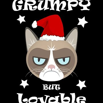 Grumpy But Lovable Fanny Cats Christmas Xmas by AYmanee