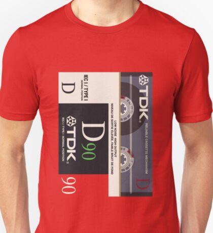 Classic Music Cassettes - TDK D90 T-Shirt