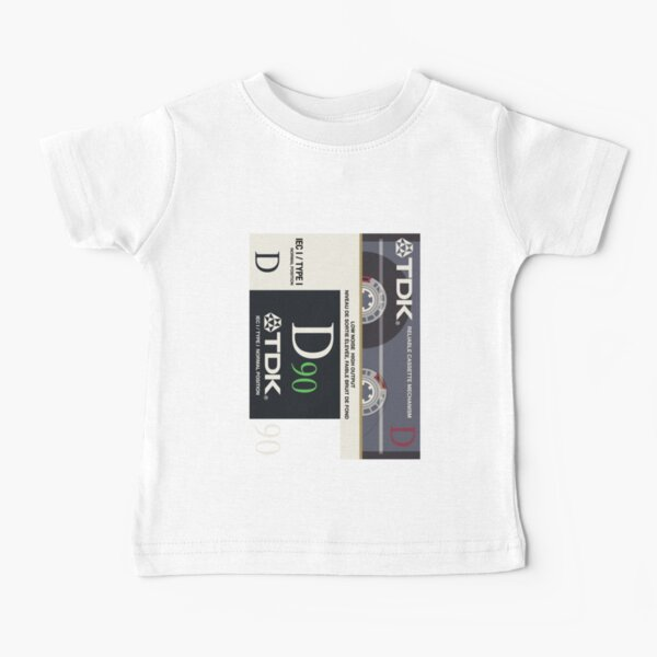 Classic Music Cassettes - TDK D90 Baby T-Shirt