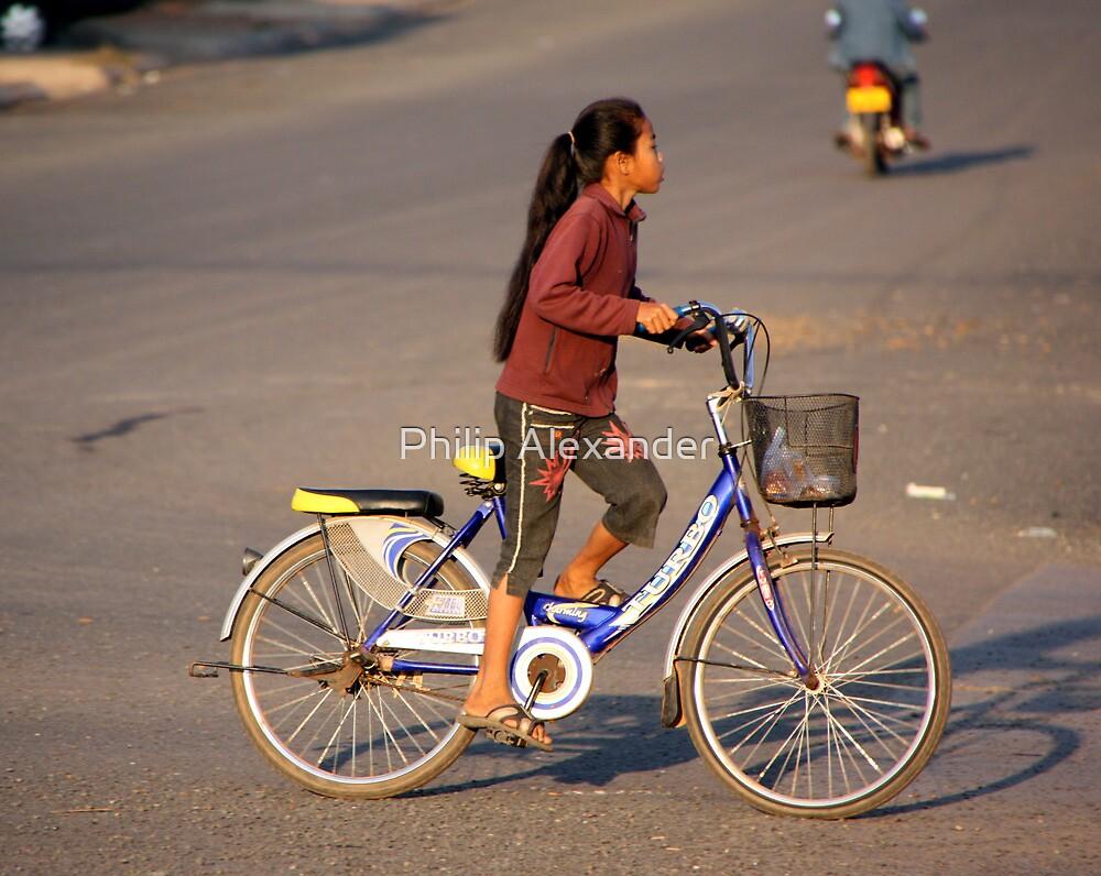 Morning bike ride by Philip Alexander
