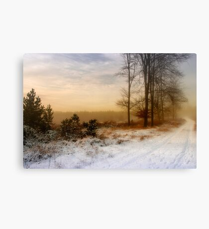 Christmas Eve in the Snow - 2 Canvas Print