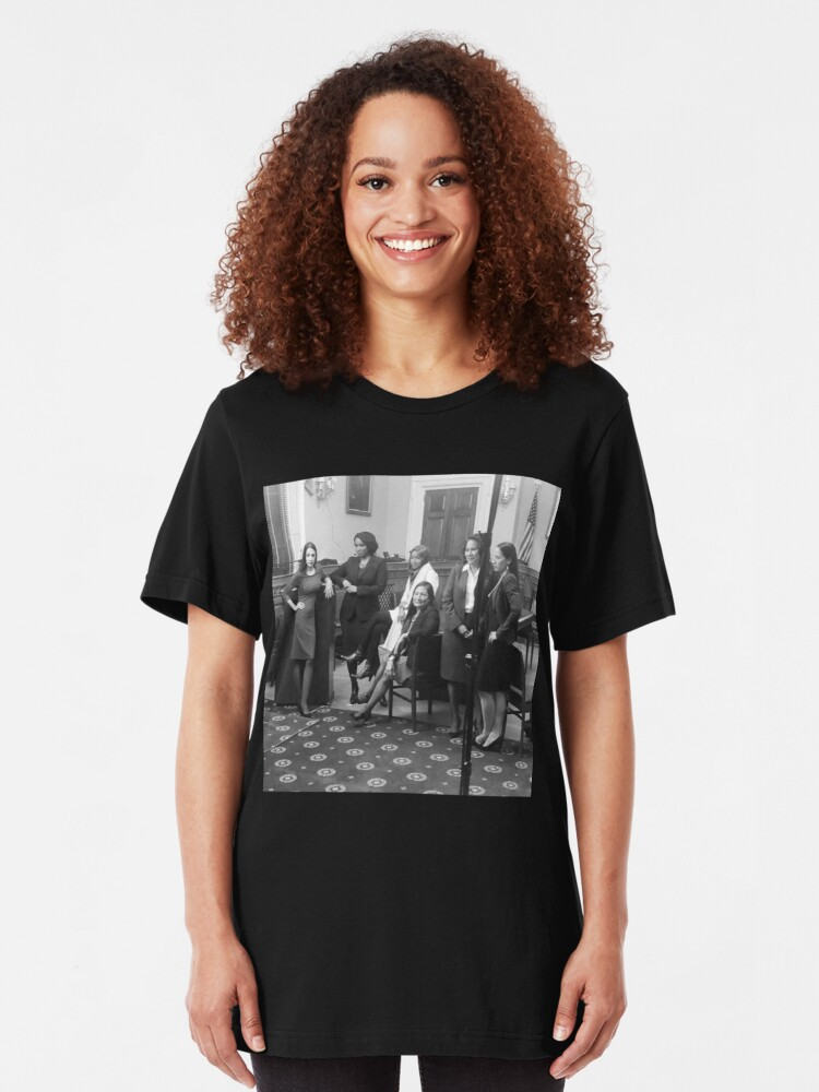 Alternate view of Women of the 116th Congress Slim Fit T-Shirt