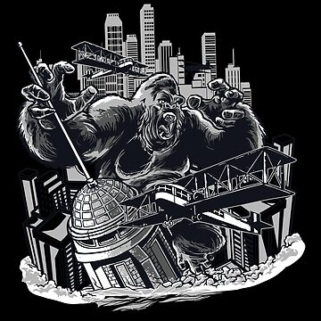 Wild Animal - Gorilla - King Kong by Skullz23
