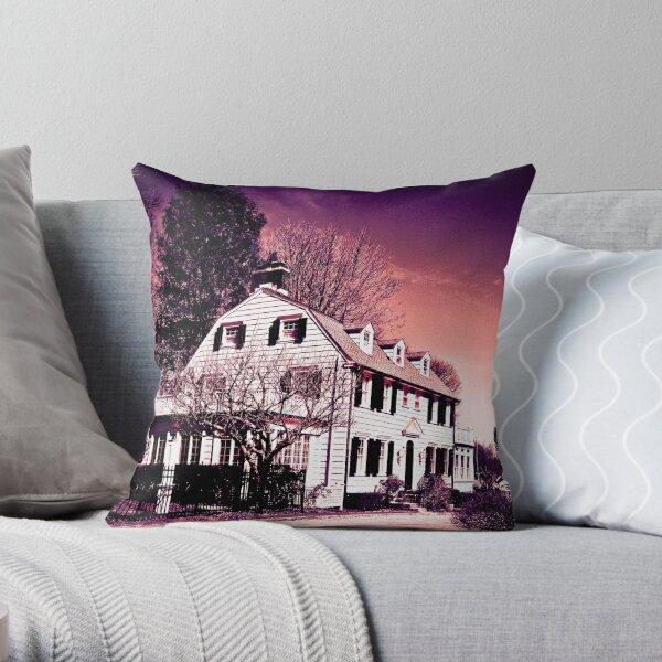 Amityville Horror House - Today ( 2015 ) Throw Pillow