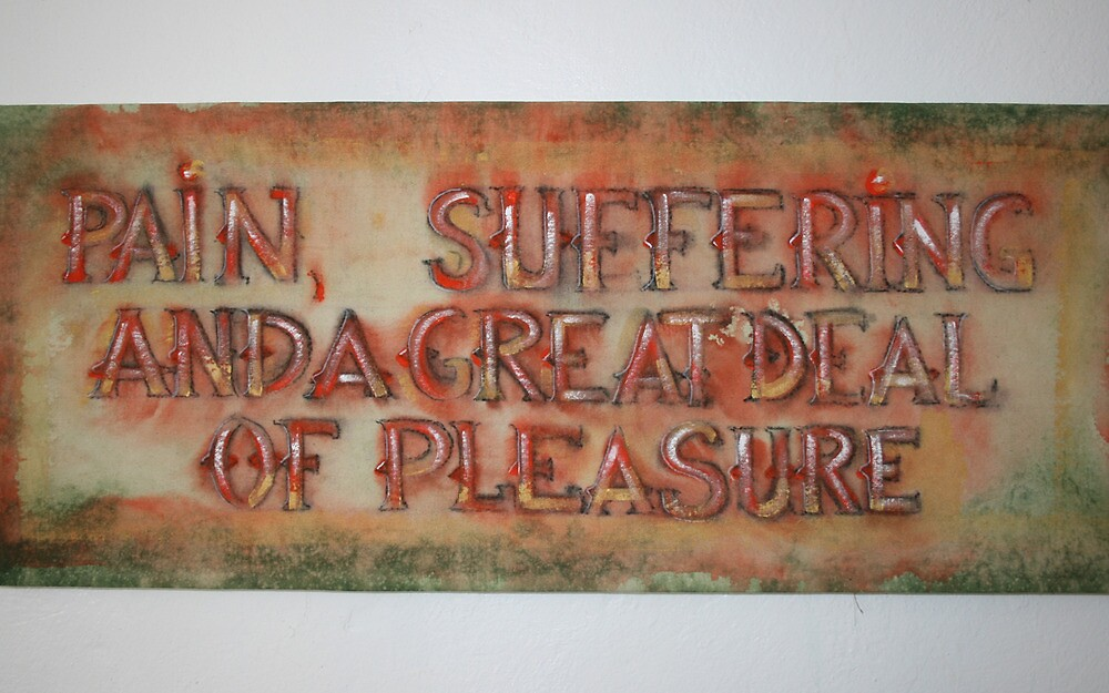 Pain, Suffering and a great deal of Pleasure 12 by Tracy Church