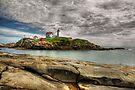 Cape Neddick Light  by JHRphotoART