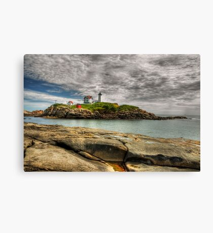 Cape Neddick Light  Canvas Print