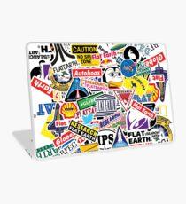 Flat Earth Stickers  Laptop Skin