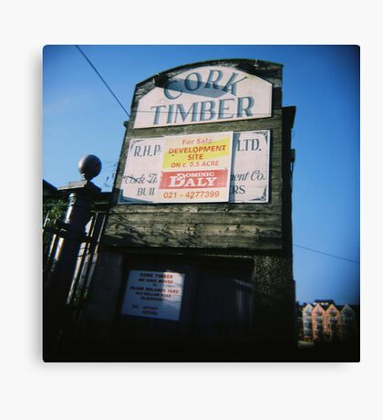 Timber!!!! Canvas Print