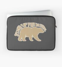 conservation bear grizzly nature lover Laptop Sleeve