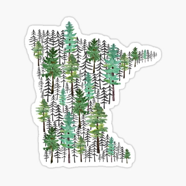 Minnesota Forest Sticker