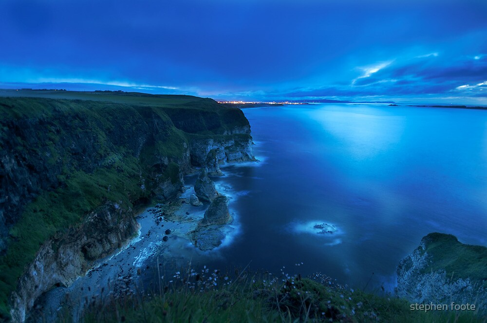 Towards Portrush by stephen foote
