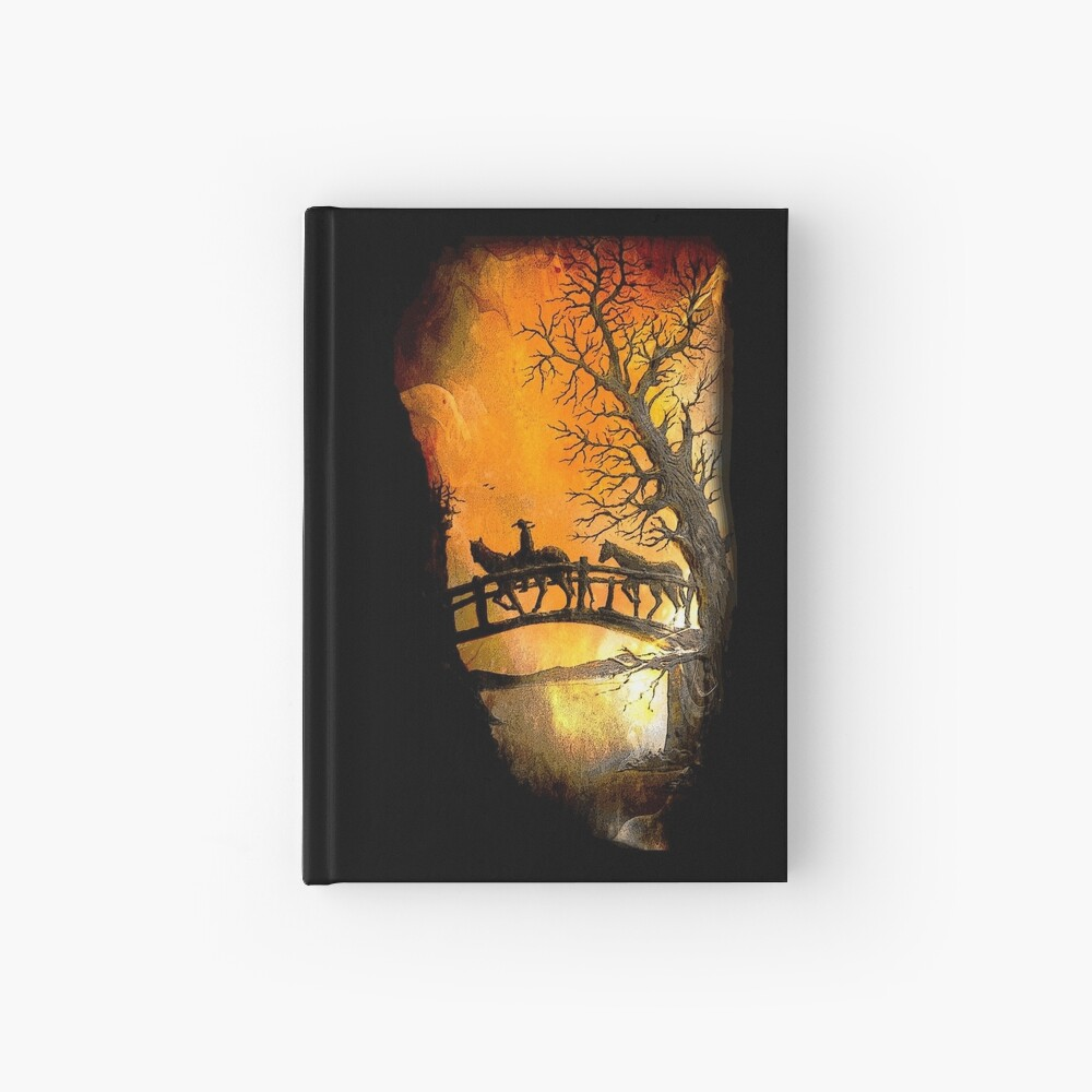 Art at Sustag, Ecuador II Hardcover Journal