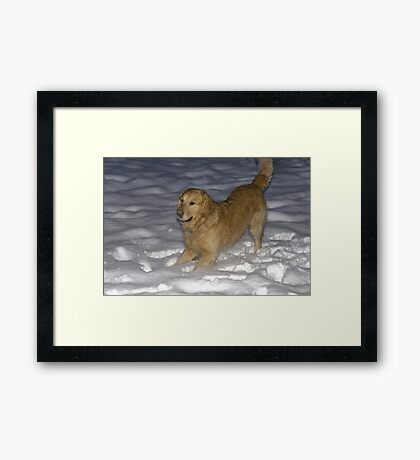 COME PLAY WITH ME Framed Print