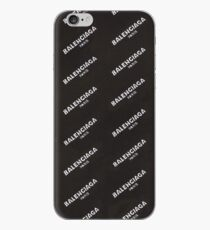 Balenciaga Black iPhone Case