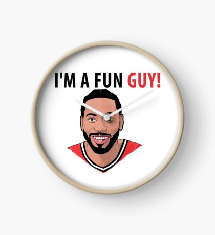 I'm a fun guy! [Kawhi Edition] Clock