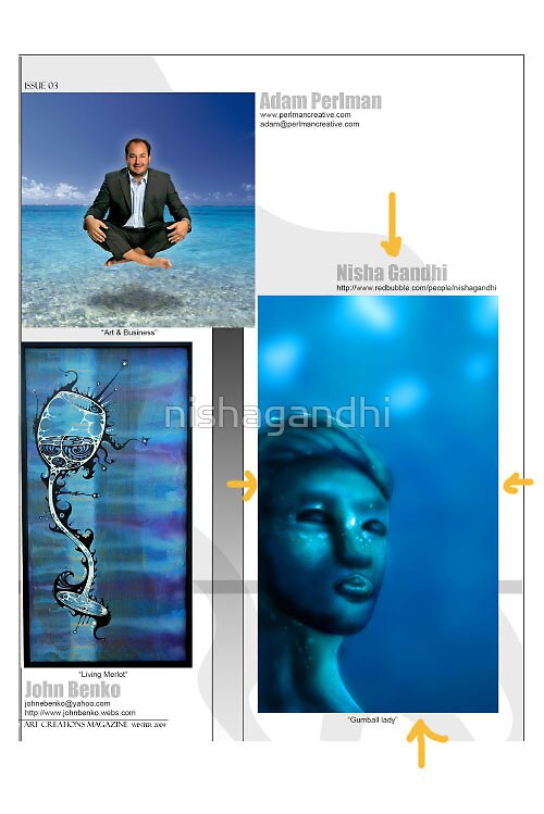 This is the work published inside the magazine by nishagandhi