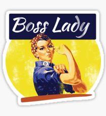 Boss Lady Rosie Riveter Sticker
