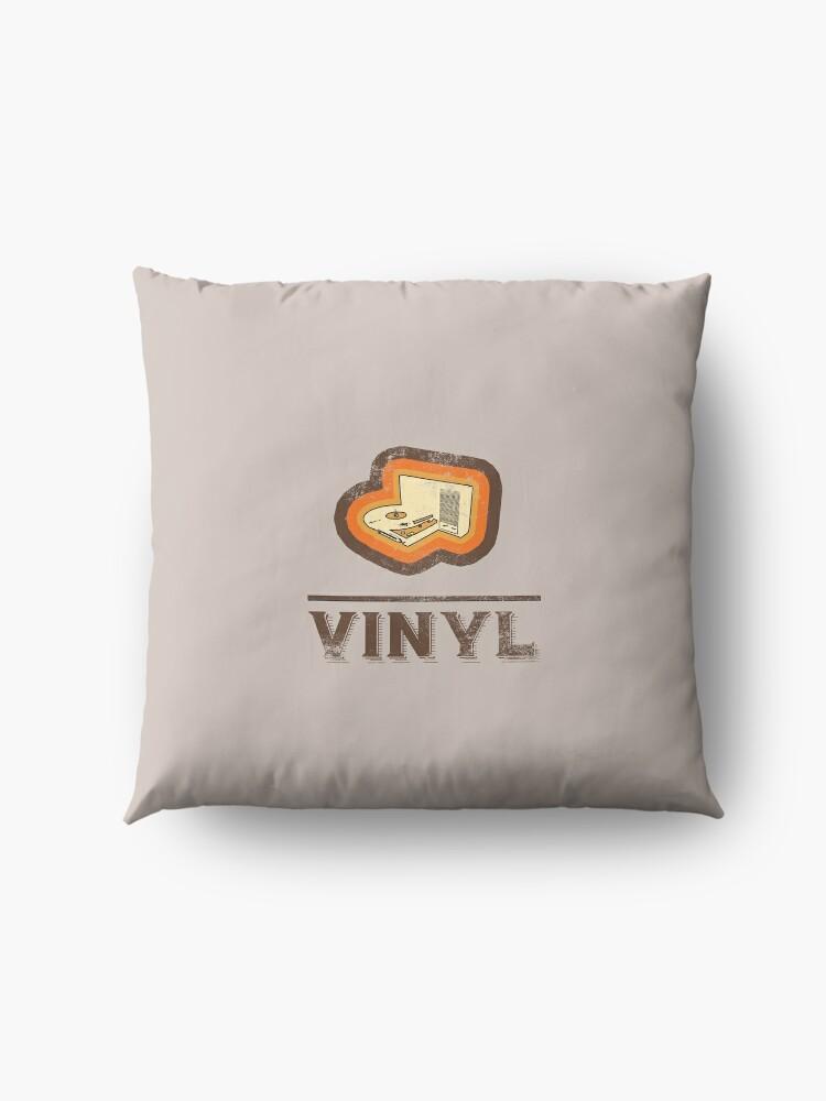 Alternate view of Vinyl retro Floor Pillow
