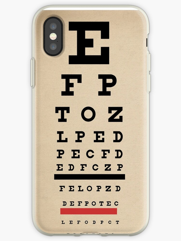 Vintage Inspired Eye Chart Snelling Eye Chart Visual Acuity