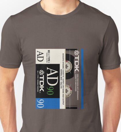 Classic Music Cassettes - TDK AD90 T-Shirt