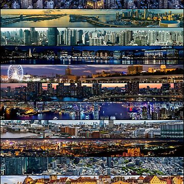 Panorama Wrap City Scapes by adamcampen