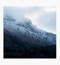 Première neige en Chartreuse Impression photo