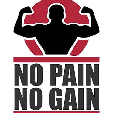 No pain No gain  by christianoo