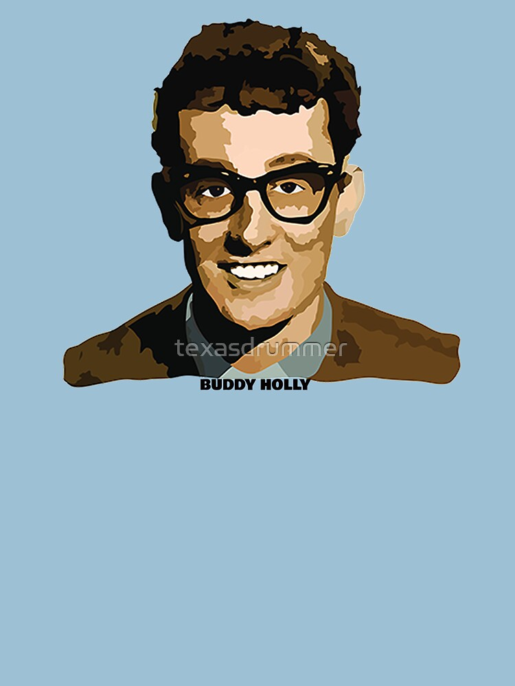 Buddy Holly by texasdrummer