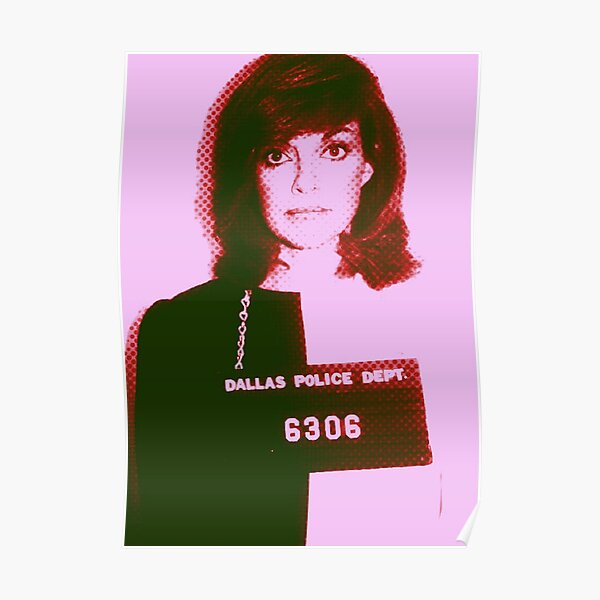 Sue-Ellen Ewing Mug shot Poster