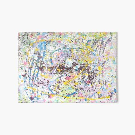 Party of Colors Art Board Print
