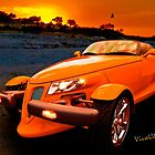 Chrysler Plymouth Prowler Rocky Sunset by ChasSinklier