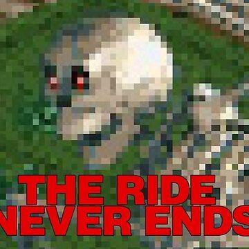 Mr Bones Wild Ride - Roller Coaster Tycoon Meme by oggi0