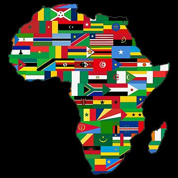 Africa flags by TOMSREDBUBBLE