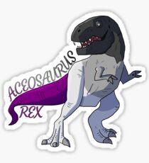 Aceosaurus Rex Sticker