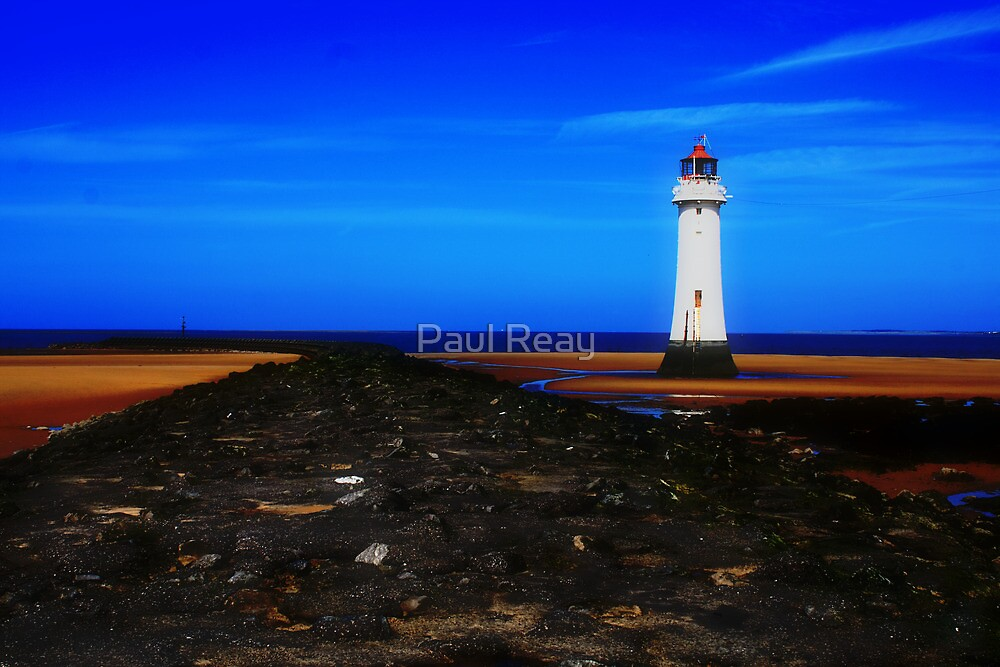 New Brighton Lighthouse by Paul Reay