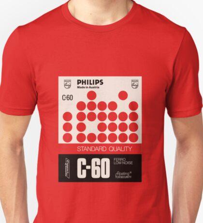 Classic Music Cassettes - Philips Standard C60 T-Shirt