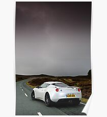 The new Lotus Evora .... Poster