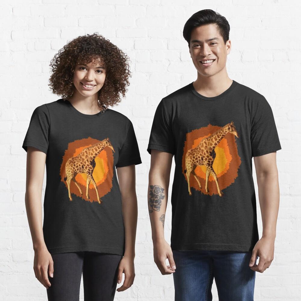 Giraffe Popart Essential T-Shirt