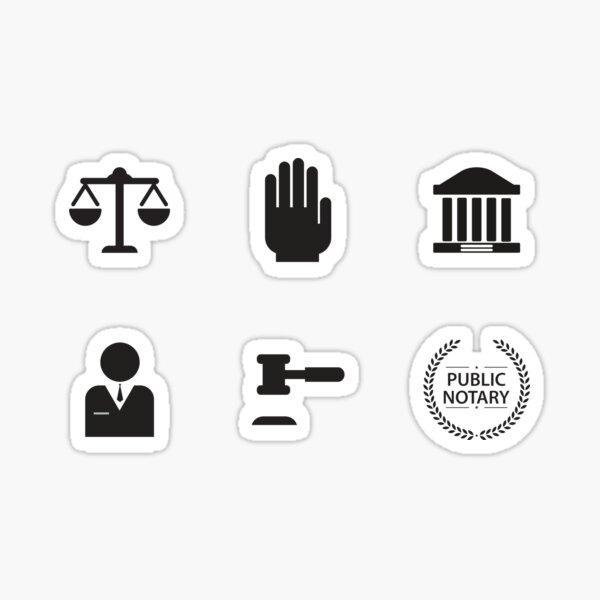 An Honest Lawyer Sticker