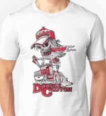 Double Clutch Skull Design T-Shirt
