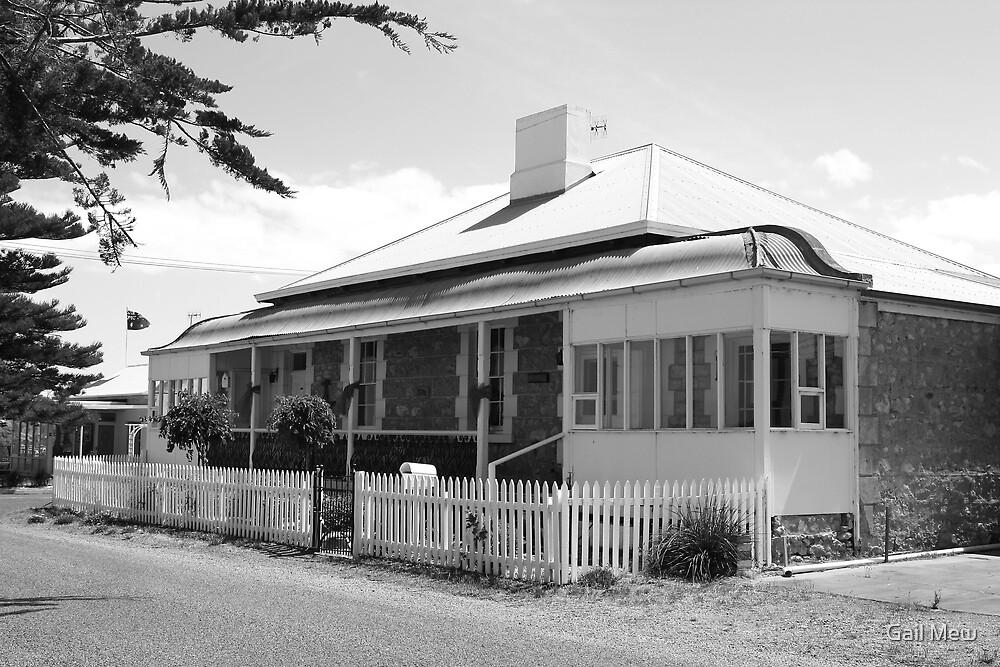 """""""Cockenzie House, Goolwa, SA"""" by Gail Mew"""
