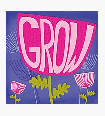 GROW Photographic Print