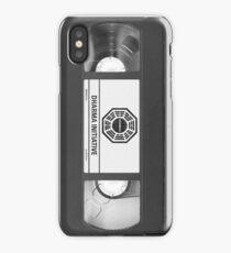 Dharma Initiative VHS - Orientation Tape (LOST) iPhone Case